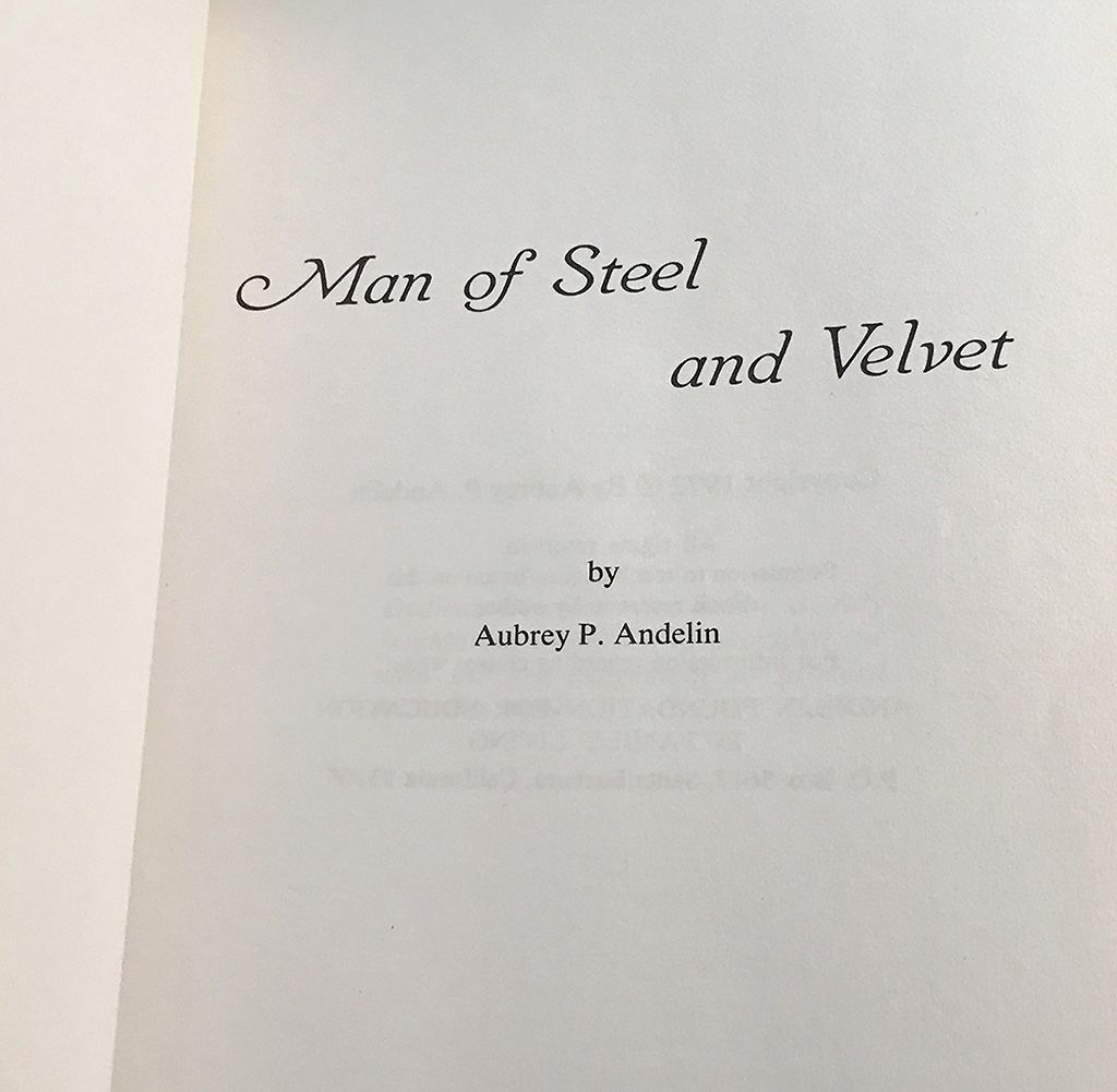 Man of Steel and Velvet A Guide to Masculine Development