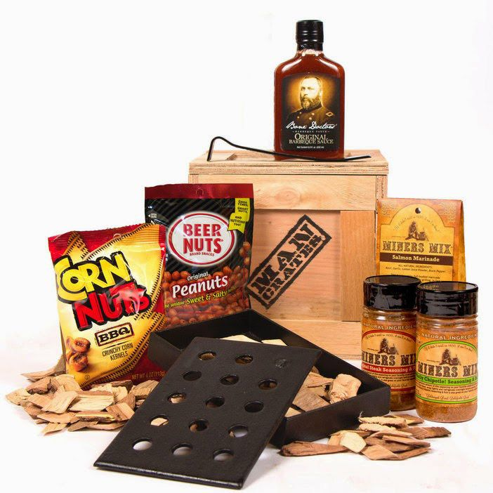 Man Crate Hickory Grilling Crate